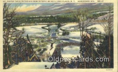 Olympic Ski Hill, Lake Placid, New York, USA