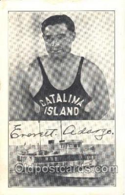spo050071 - Everett Adargo Misc. Sports Postcard Postcards