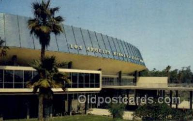 spo060007 - Los Angeles Memorial Sports Arena California USA Sports, Old Vintage Antique Postcard Post Cards