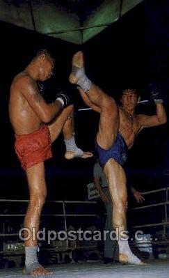 Thai Boxing Bangkok Thail&