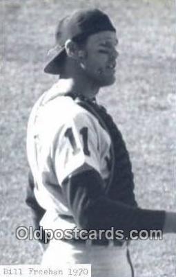 spo070211 - Bill Freehan Base Ball Postcard Detroit Tigers Baseball Postcard Post Card