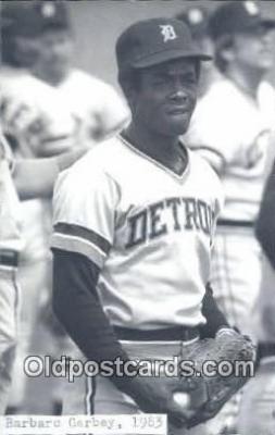spo070247 - Barbano Garbey Base Ball Postcard Detroit Tigers Baseball Postcard Post Card