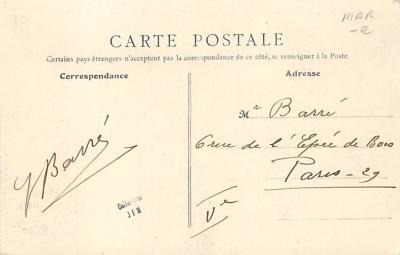 spoA008006 - Langrune Sur Mer Calvados, Croquet Postcard Carte Postale  back