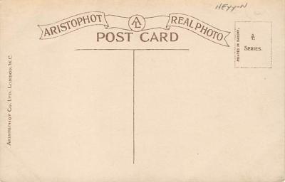 spoA008017 - Jimmy the spofrtsman, Croquet Postcard  back