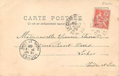 spoA008026 - La Partie de CroquetCroquet Postcard  back