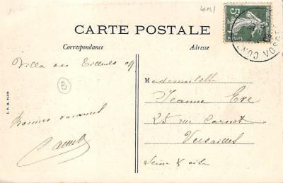 spoA008031 - Le Jeu de Croquet Postcard  back