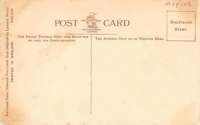 spoA008036 - Artist Lawson Wood, Croquet Postcard  back