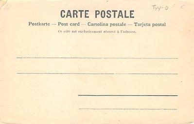 spof011016 - Escrime au sabre Fencing, Fence, Old Vintage Antique Postcard Post Cards  back