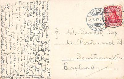 spof011049 - Searn Muhlberg Fencing Postcard  back
