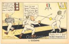 spo000006 - Fencing Postcard Postcards