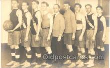 spo001002 - York Basketball team 1914, Basket Ball Postcard Postcards