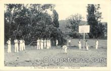 spo001004 - Le Camp de Bouafles Le Baskett-ball, Basketball, Basket Ball Postcard Postcards