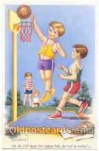 spo001009 - Basketball, Basket Ball Postcard Postcards
