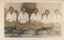 spo001050 - Unknown Girl Basketball Team 1915, Basket Ball Postcard Postcards