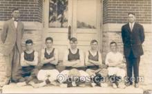 spo001055 - Union Center Indiana 1913-1914 Basketball Team Champions, Basket Ball Postcard Postcards
