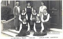 spo001062 - Leslie Cobb Lewisham College, London, UK Basketball Postcard Postcards