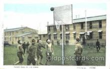 spo001063 - Basket ball in the camps Postcard Postcards