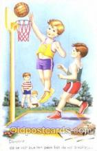spo001065 - Basketball Postcard Postcards