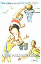 spo001068 - Basketball Postcard Postcards