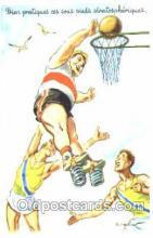 spo001068 - Basketball Postcard Postcards