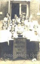 spo001069 - Public School Indoor Meet 1920 Group A Basketball Postcard Postcards