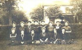 spo001074 - 1909 Woman's Basketball Postcard Postcards