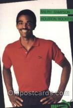 spo001080 - Ralph Sampson Houston Texas, USA Rockets, Puma, Basketball Postcard Postcards