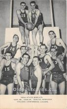 spo001083 - Old Vintage Basketball Postcard Post Card