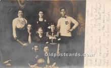spo001087 - Old Vintage Basketball Postcard Post Card