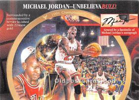 Michael Jordan, UnbelievaBULL