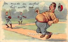 spo002607 - Old Vintage Baseball Postcard Post Card