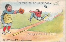 spo002613 - Old Vintage Baseball Postcard Post Card
