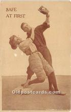 spo002635 - Old Vintage Baseball Postcard Post Card