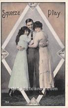 spo002638 - Old Vintage Baseball Postcard Post Card