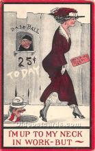 spo002648 - Old Vintage Baseball Postcard Post Card