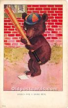 spo002651 - Old Vintage Baseball Postcard Post Card