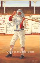 spo002654 - Old Vintage Baseball Postcard Post Card