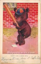 spo002657 - Old Vintage Baseball Postcard Post Card