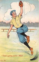 spo002664 - Old Vintage Baseball Postcard Post Card