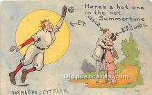 spo002678 - Old Vintage Baseball Postcard Post Card
