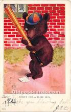 spo002680 - Old Vintage Baseball Postcard Post Card