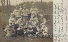 spo003107 - Webster, Massachusetts, USA Base Ball Baseball Real Photo Postcards Post Card