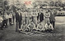 spo003110 - Honeoye, Falls, NY, USA A.O.C,  Base Ball Baseball Real Photo Postcards Post Card