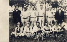 spo003111 - Base Ball Baseball Real Photo Postcards Post Card