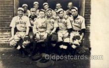 spo003115 - Base Ball Baseball Real Photo Postcards Post Card