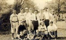spo003116 - Irving, New York, USA Base Ball Baseball Real Photo Postcards Post Card