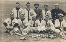 spo003118 - Base Ball Baseball Real Photo Postcards Post Card
