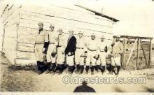 spo003124 - U.S.S. Baltimore, MD USA Base Ball Baseball Real Photo Postcards Post Card