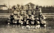 spo003146 - Winona Lake, Indiana, USA Base Ball Baseball Real Photo Postcards Post Card