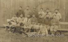 spo003157 - East End Team Base Ball Baseball Real Photo Postcards Post Card